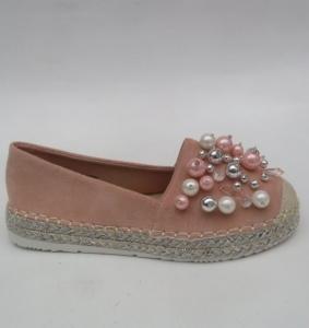 """Купить Кеды женские оптом - слипоны, криперы, эспадрильи Obuw 931-8 PINK. Обувь оптом - """"Первый обувной"""""""