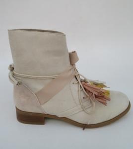 Женская обувь осень - оптом ботинки A-226 BEIGE