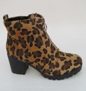 Женская обувь осень - оптом демисезонные ботинки леопард A-273 CAMEL
