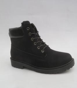 Мужская зимняя обувь оптом - стильные спортивные ботинки A62-1 BLACK