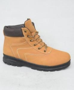 Мужская зимняя обувь оптом - мужские классные ботинки A9572-16 CAMEL