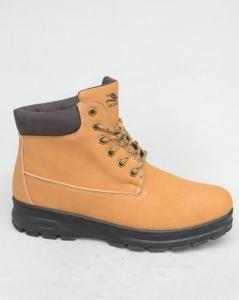 Мужская зимняя обувь оптом - зимние ботинки A9574-16 CAMEL
