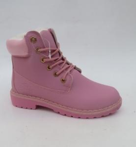 Купить оптом розовые ботинки на зиму B1719-4 PINK - недорого в интернет-магазине 1shoes