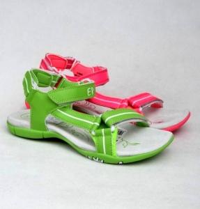 Дешевая обувь оптом - купить спортивные сандали в зеленом цвете B428 GREEN
