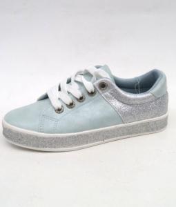 """Купить Кеды женские оптом - слипоны, криперы, эспадрильи Obuw BL125 L.BLUE. Обувь оптом - """"Первый обувной"""""""