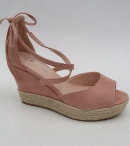 Дешевая обувь оптом - купить шикарные розовые босоножки Y21 PINK