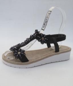 Дешевая обувь оптом - купить обалденные женские босоножки RB-8 BLACK