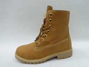 Купить оптом классные и модные зимние ботинки A21-33 YELLOW - недорого в интернет-магазине 1shoes