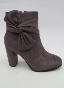 Женская обувь осень - оптом стильные ботинки на весну  A851 GREY