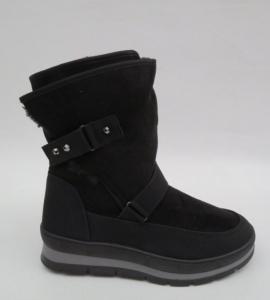 Купить оптом модные зимние ботинки FA2191 BLACK - недорого в интернет-магазине 1shoes