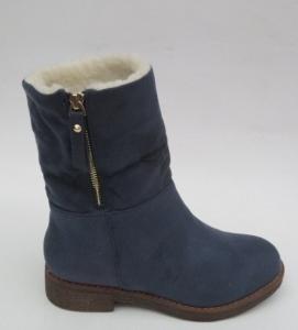 Купить оптом классные зимние ботинки S118 BLUE - недорого в интернет-магазине 1shoes