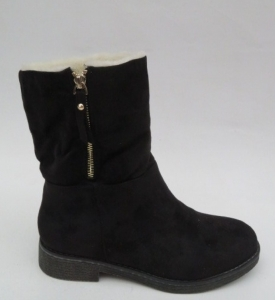 Купить оптом шикарные зимние ботинки  S118 BLACK - недорого в интернет-магазине 1shoes