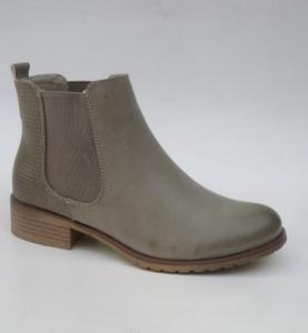Женская обувь осень - оптом удобные ботинки C296 GREY