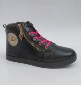 Обувь детская оптом - купить осенние ботиночки CBS91A-1 BLACK