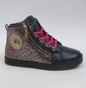 Обувь детская оптом - купить сникерсы для девочки CBS91A-2 NAVY