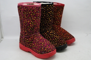 Комнатные тапочки для детей оптом и в розницу теплые детские тапочки-сапожки S001 MIX на сайте Первый Обувной