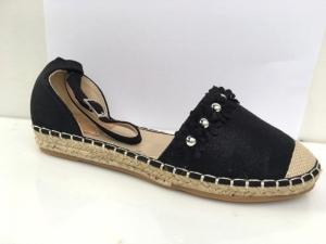 Дешевая обувь оптом - купить черные молодежные босоножки 66-306 BLACK