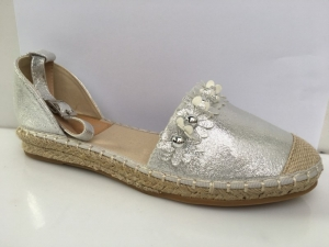 Дешевая обувь оптом - купить стильные летние босоножки 66-306 SILVER