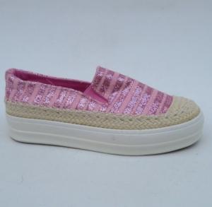 """Купить Кеды женские оптом - слипоны, криперы, эспадрильи Obuw GH001 PINK. Обувь оптом - """"Первый обувной"""""""