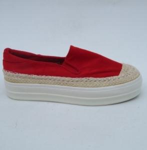 """Купить Кеды женские оптом - слипоны, криперы, эспадрильи Obuw GH018 RED. Обувь оптом - """"Первый обувной"""""""