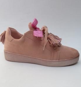 """Купить Кеды женские оптом - слипоны, криперы, эспадрильи Obuw G-9242 PINK. Обувь оптом - """"Первый обувной"""""""