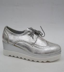 Женские туфли оптом - гламурные туфельки GF-FD8 SILVER