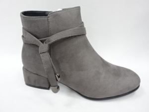 Женская обувь осень - оптом стильные ботинки на осень hq002 grey