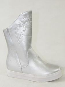 Купить оптом оригинальные зимние ботинки HX5187-5 SILVER - недорого в интернет-магазине 1shoes