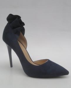 Туфли на шпильке оптом - эффектные туфли на шпильке K600 BLUE