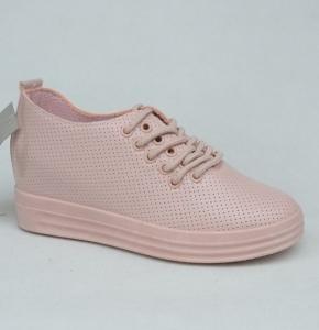 """Купить Кеды женские оптом - слипоны, криперы, эспадрильи Obuw FC733-11 PINK. Обувь оптом - """"Первый обувной"""""""