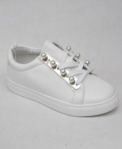 """Купить Кеды женские оптом - слипоны, криперы, эспадрильи Obuw RW732 WHITE. Обувь оптом - """"Первый обувной"""""""