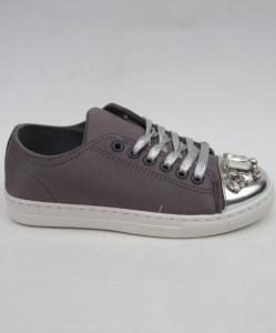 """Купить Кеды женские оптом - слипоны, криперы, эспадрильи Obuw V5502 GREY. Обувь оптом - """"Первый обувной"""""""