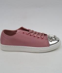 """Купить Кеды женские оптом - слипоны, криперы, эспадрильи Obuw V5502 PINK. Обувь оптом - """"Первый обувной"""""""