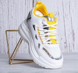 """Купить Кроссовки женские опт Obuw lv107 yellow. Обувь оптом - """"Первый обувной"""""""