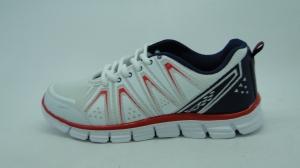 Мужские мужские легкие кроссовки PN-2 WHITE/RED - купить оптом