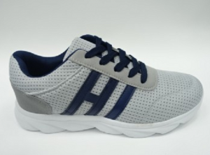 Мужские кроссовки мужские модные tl003 grey/blue - купить оптом