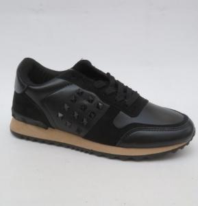 """Купить Кроссовки женские опт Obuw R228 BLACK. Обувь оптом - """"Первый обувной"""""""