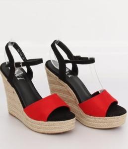 Дешевая обувь оптом - купить стильные босоножки L-190 red
