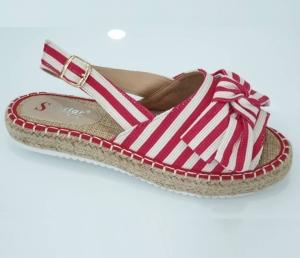 Дешевая обувь оптом - купить красные летние босоножки LK27 red