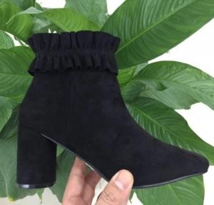 Женская обувь осень - оптом стиляжные молодежные ботинки ll-101 black