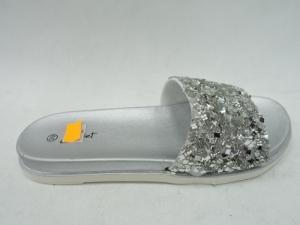 Дешевая обувь оптом - купить шлепанцы LS-512 SILVER