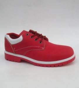 Женские туфли оптом - яркие красные туфли LS001-13 RED