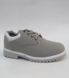 Женские туфли оптом - стильные молодежные туфли LS001-6 GREY