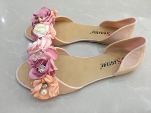 Дешевая обувь оптом - купить летние балетки LS06 BEIGE