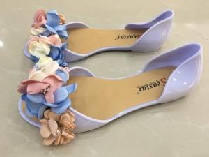 Дешевая обувь оптом - купить летние балетки LS06 BLUE