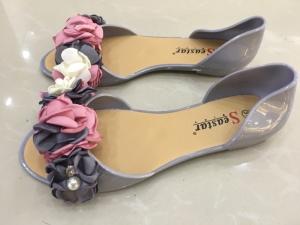 Дешевая обувь оптом - купить балетки LS06 GREY