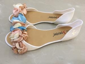 Дешевая обувь оптом - купить летние балетки LS06 WHITE