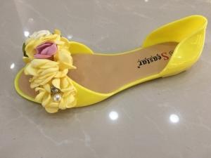 Дешевая обувь оптом - купить моднячие балетки LS06 YELLOW