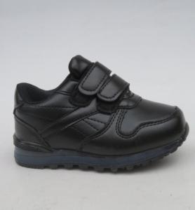 Купить обувь оптом в Украине - прикольные детские кроссовки LT1807E-1 BLACK