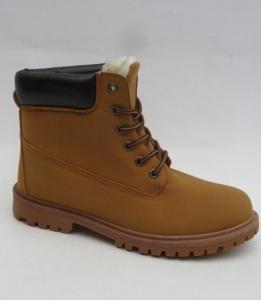 Мужская зимняя обувь оптом - модные зимние ботинки для мужчин LXC-7278-W CAMEL
